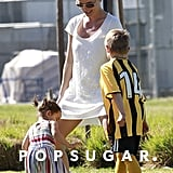 Britney Spears Goes Into Soccer-Mom Mode With Her Little Ones