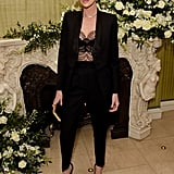 Charlize Theron at the British Vogue and Tiffany & Co. Fashion and Film Party
