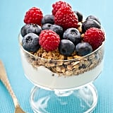 We made sure breakfast was a healthy one with this granola, Greek yoghurt and fresh berries delight. Recipe here!