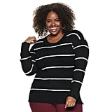 EVRI Plus Size Graphic Sweater