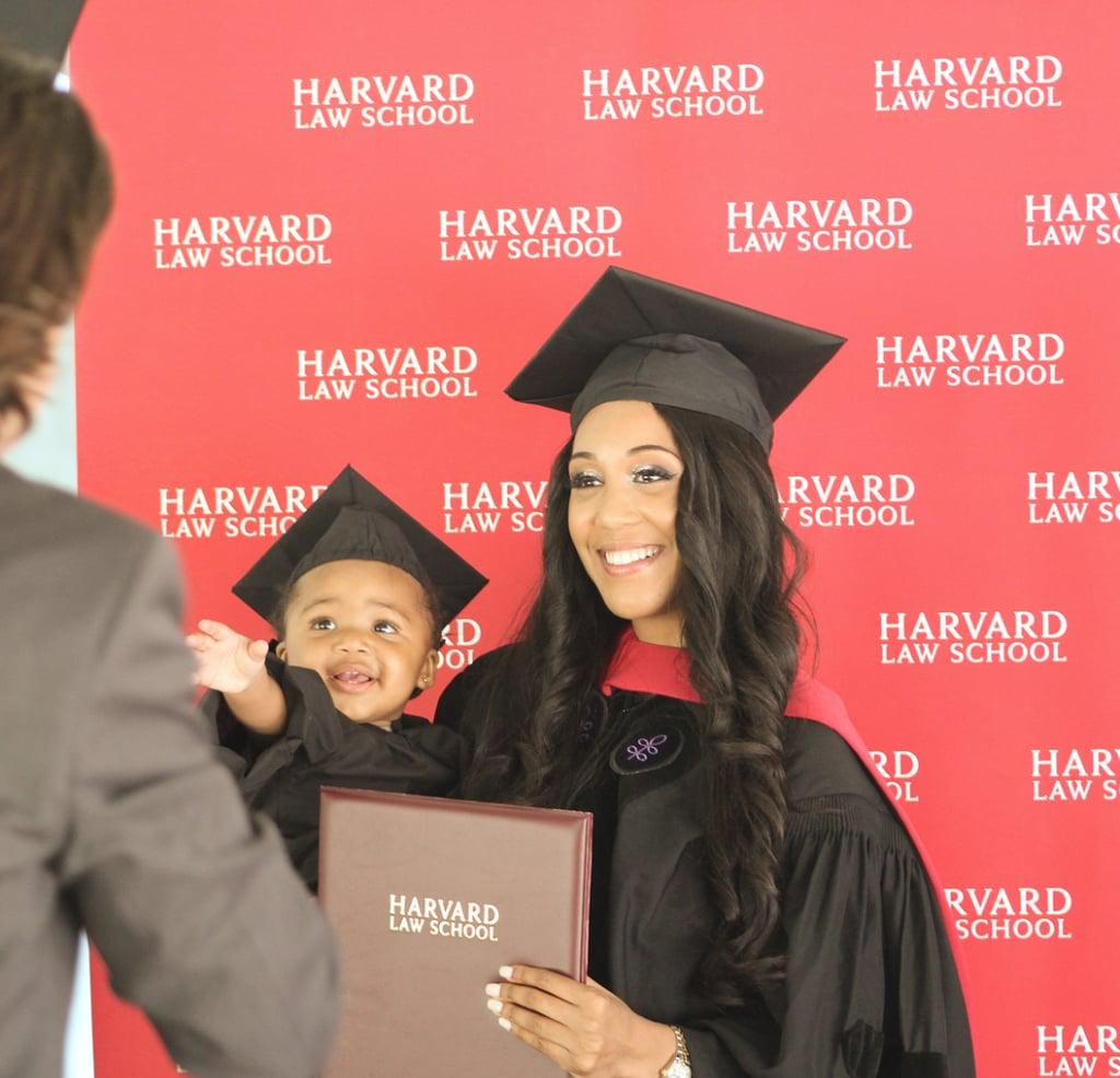 Single Mom Graduates From Harvard