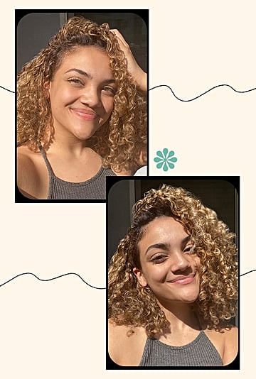Laurie Hernandez's Curly-Hair Routine