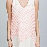 Ark & Co. Embo Dress White/pink