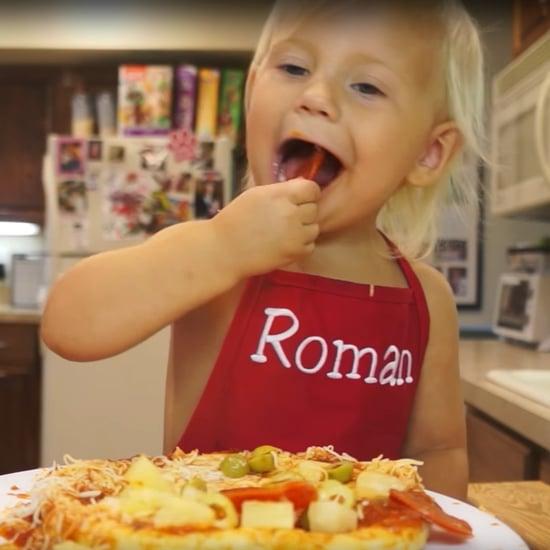Roman's Cooking Corner Pizza Video on YouTube