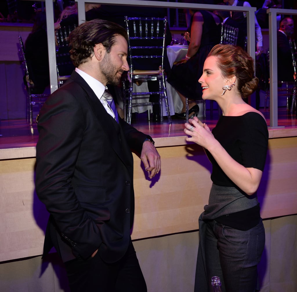 Emma Watson and Bradley Cooper at Time 100 Gala 2015