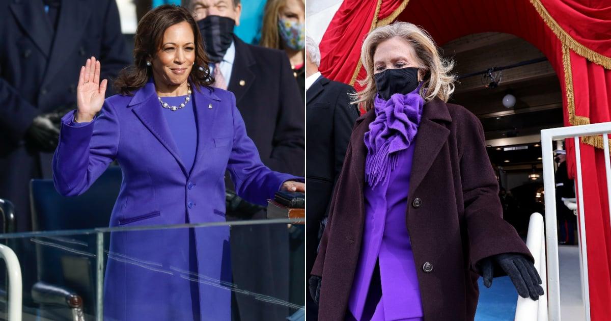 The Important Reason Kamala Harris, Michelle Obama, and Hillary Clinton All Wore Purple