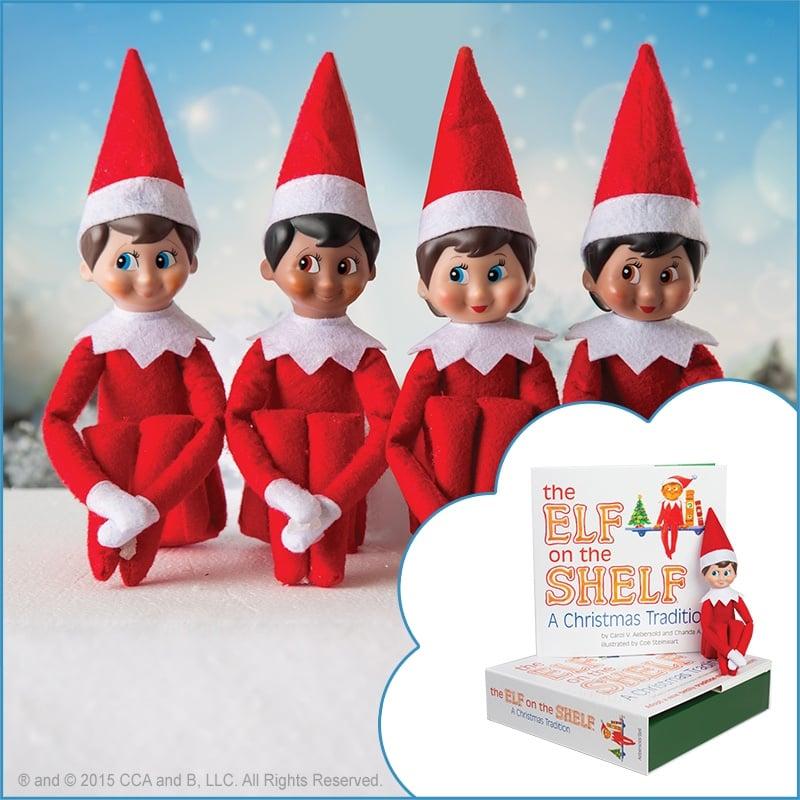Elf On The Shelf Skin Tones Popsugar Family