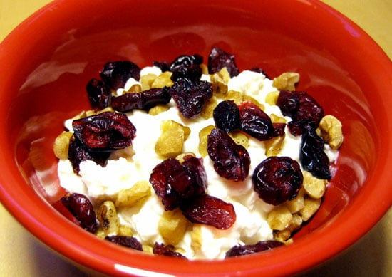 Cottage Cheese Walnuts And Craisin Snack Popsugar Fitness