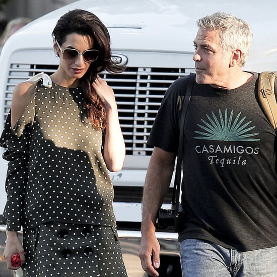 George and Amal Clooney Out in LA October 2016