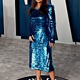 Salma Hayek at the Vanity Fair Oscars Afterparty 2020