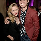 Chloë Grace Moretz and Ansel Elgort made a gorgeous pair at the InStyle and Hollywood Foreign Press Association's party.