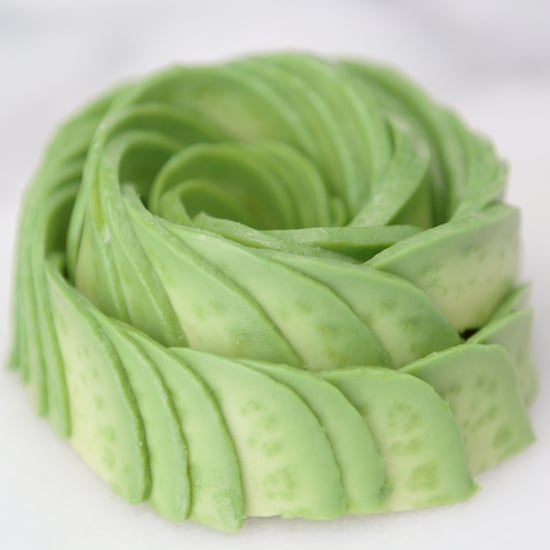 Avocado Roses How To