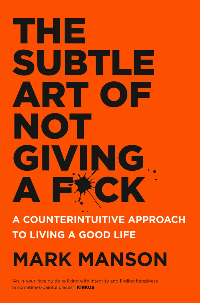 The Subtle Art of Not Giving a F*ck, $29.99