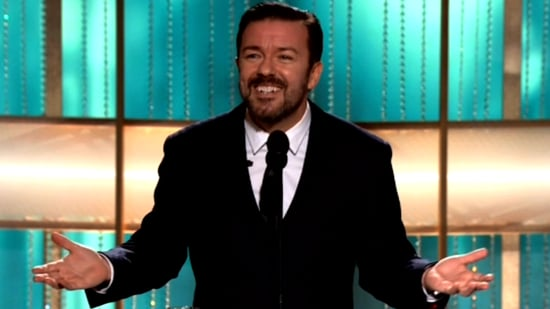Ricky Gervais Golden Globes 2011 Opener Video