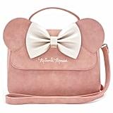 Loungefly x Minnie Ears & Bow Pink Crossbody Bag