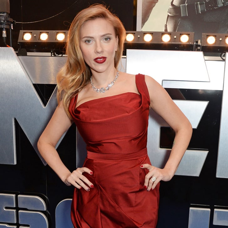 Scarlett Johansson's Maternity Style Is Red Hot