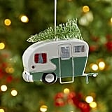 Camper and Tree Ornament