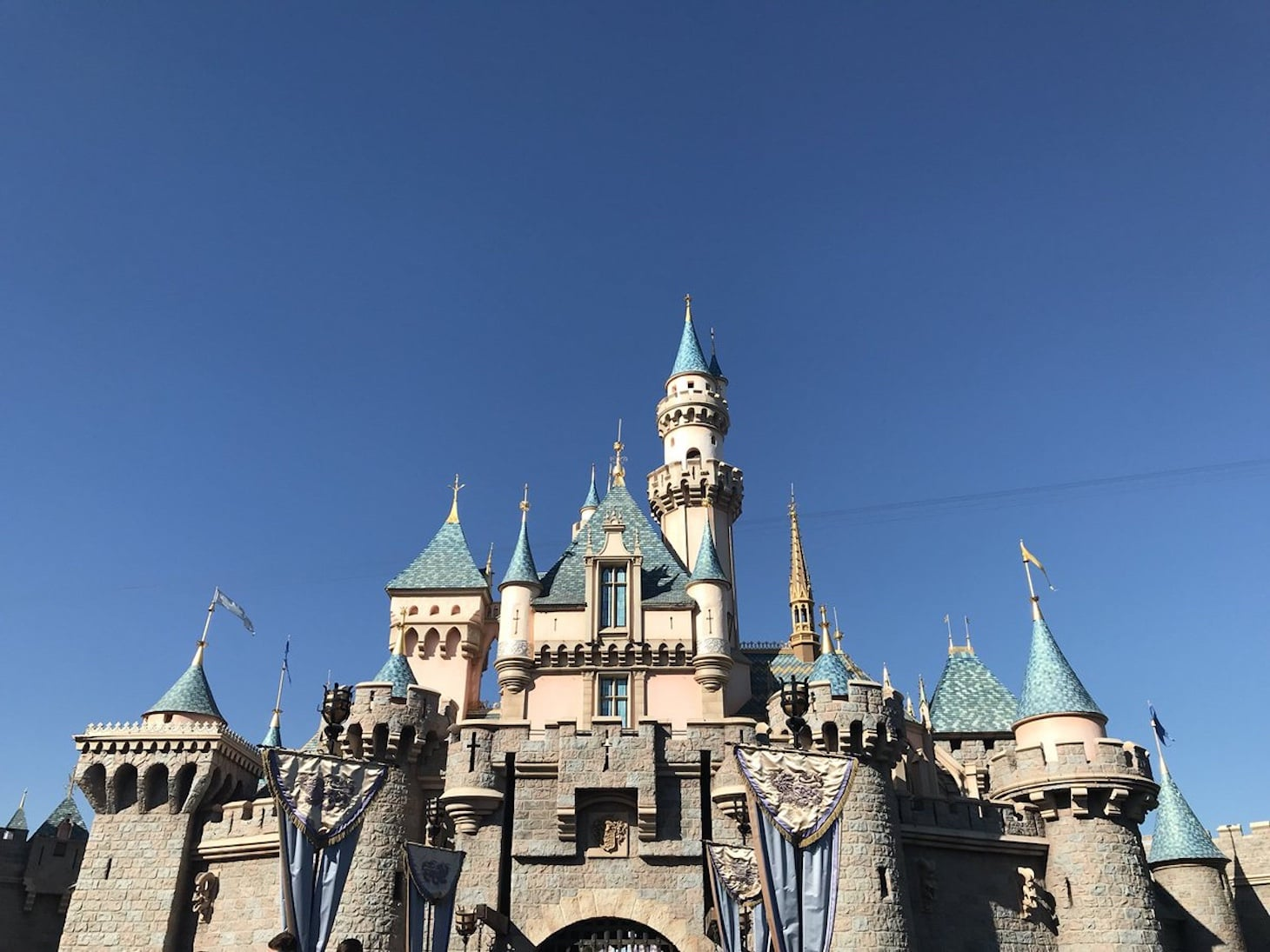 Sleeping Beauty Castle at Disneyland Park (credit: Megan duBois)