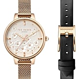 Ted Baker London Kate Mesh Strap Watch Set