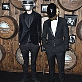 Zedd and a Friend as Daft Punk