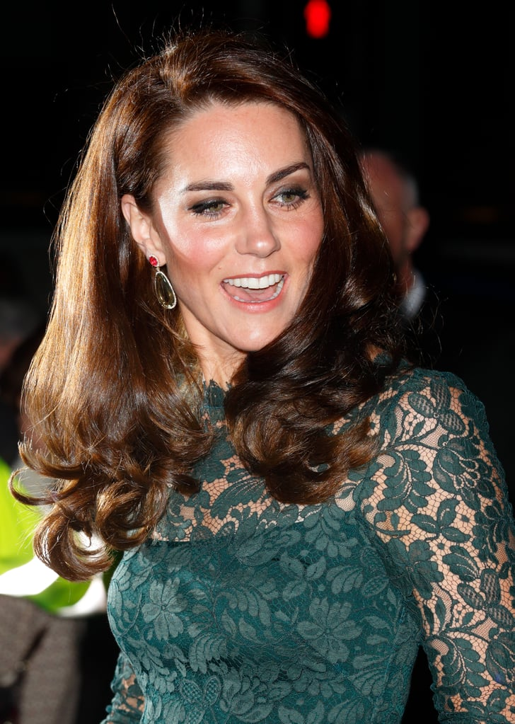Kate Middleton's Green Temperley Gown Portrait Gala 2017 ...