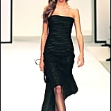 Gisele Bündchen on the Valentino Pret-A-Porter Runway in Paris Fall/Winter 2001