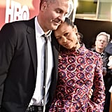 Thandie Newton and Ol Parker at the Season 2 Premiere of Westworld, 2018