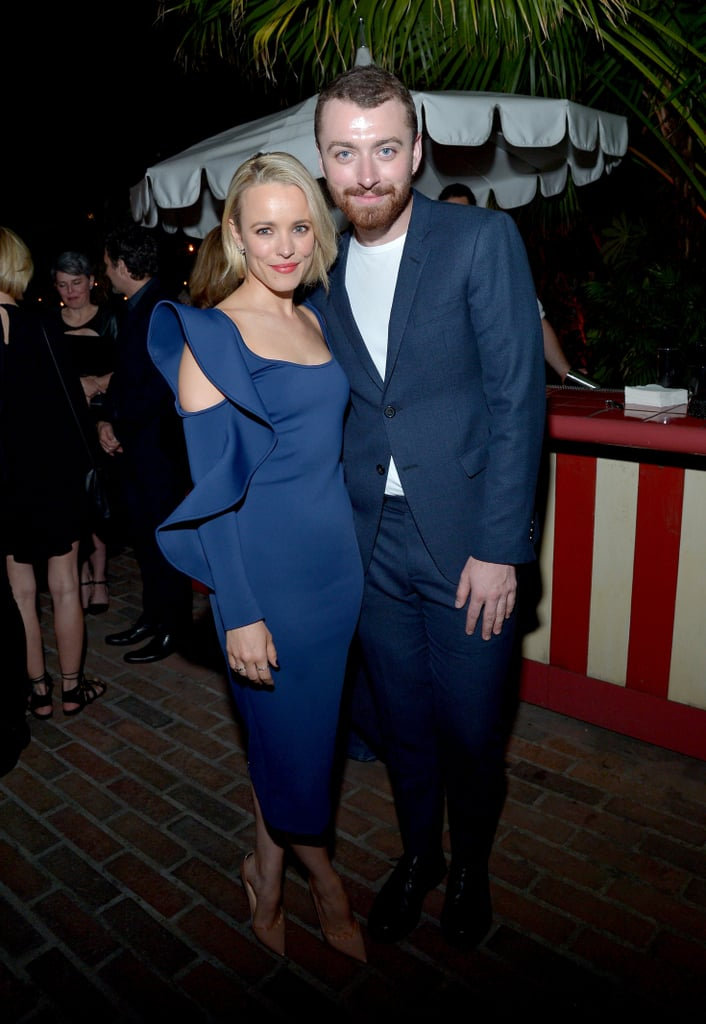 Rachel McAdams and Sam Smith Hang Out February 2016