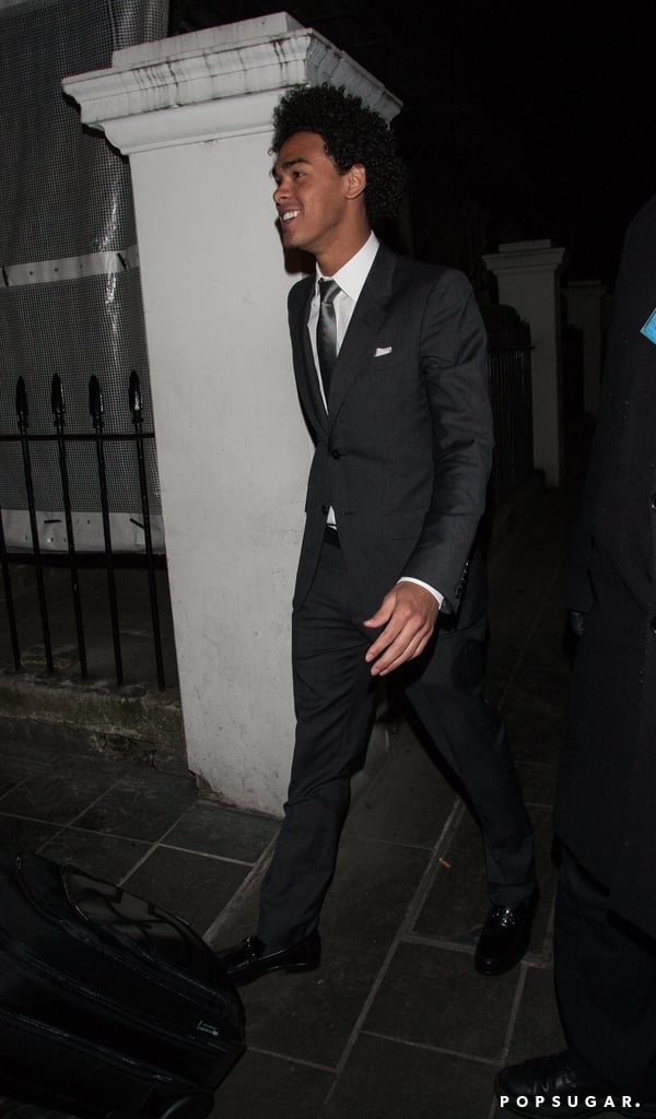 Will Smith's son Trey had a DJ set at the trendy Boujis nightclub in London.