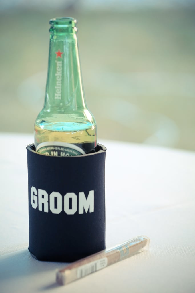 The bride and groom koozies are especially fun. Photo by Bryce Lafoon Photography