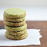 Matcha-Almond Shortbread Cookies