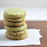 Matcha-Almond Shortbread Cookies