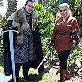 Jon Snow and Jedi Daenerys Targaryen — Game of Thrones/Star Wars