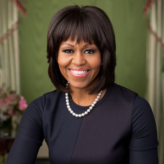 Michelle Obama's Bangs in Official White House Portrait