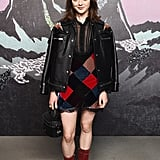 Maisie Williams at the Coach Spring/Summer 2019 Fashion Show, September 2018