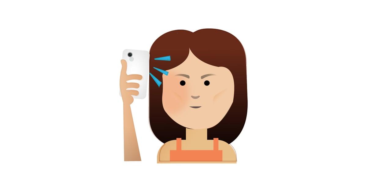 Selfie | Emojis We Wish Existed | POPSUGAR Australia Tech ...