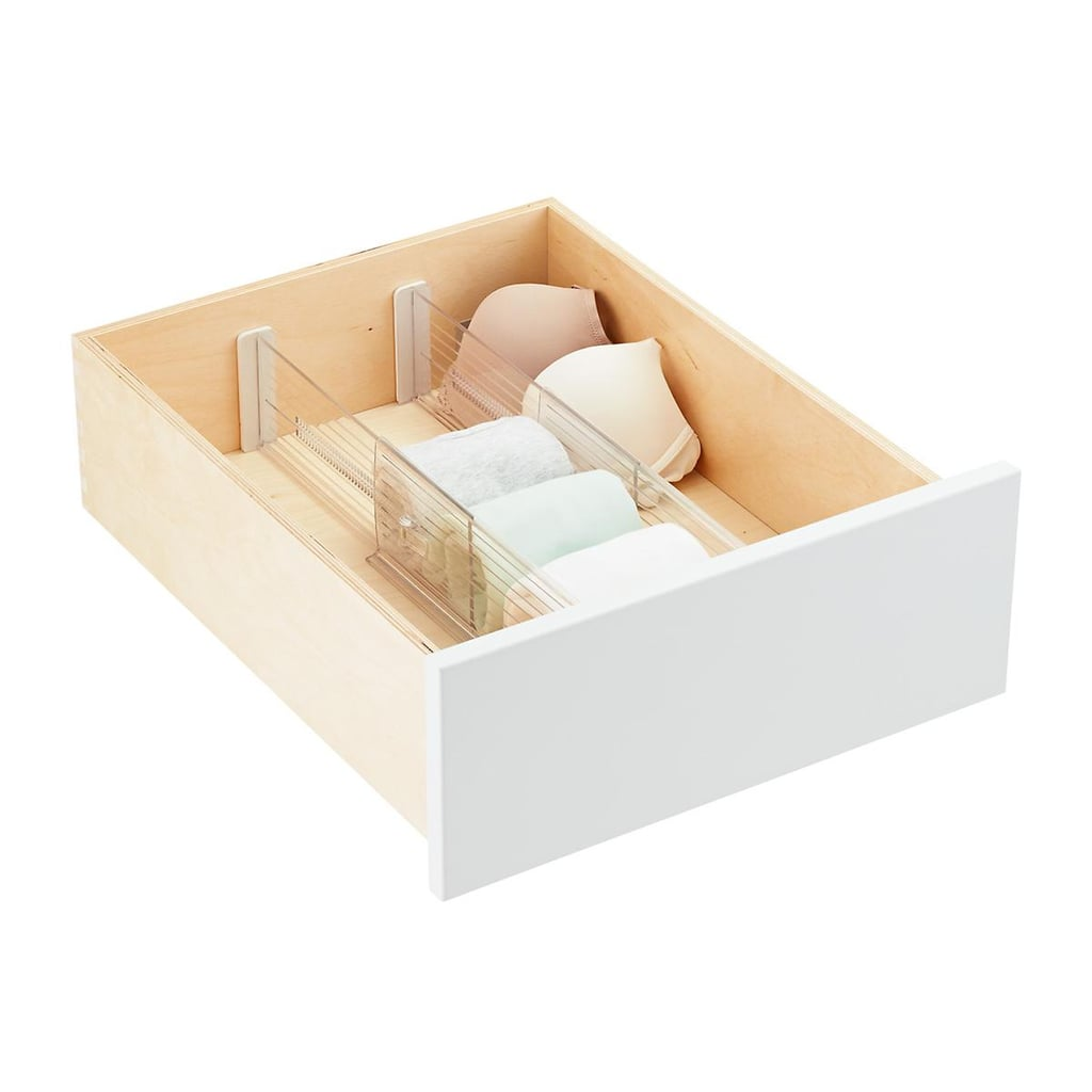 "4"" Expandable Drawer Dividers Pkg/2"