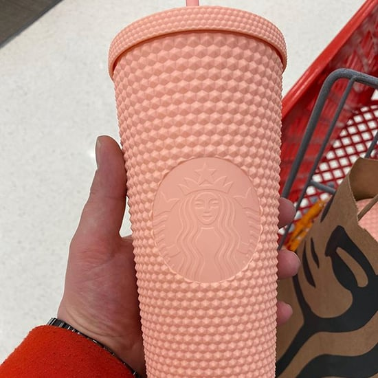 Starbucks Released a Reusable Matte Pink Studded Cold Cup