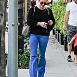 Hilary Duff Trades Her Bikini For Bell Bottoms During an LA Outing