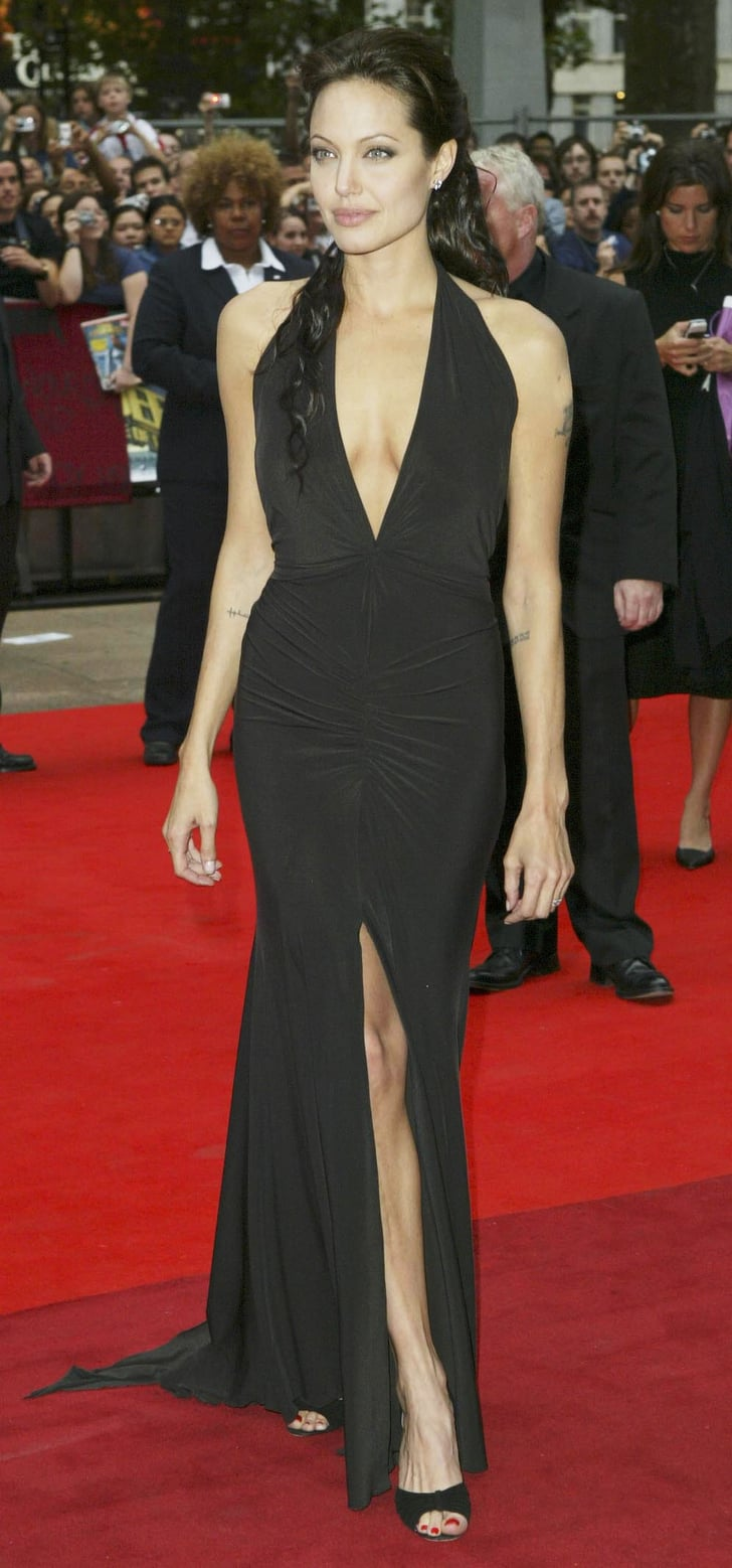 angelina jolies red carpet transformation angelina