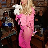 Rita Ora dressed up as a Barbie doll in 2015.