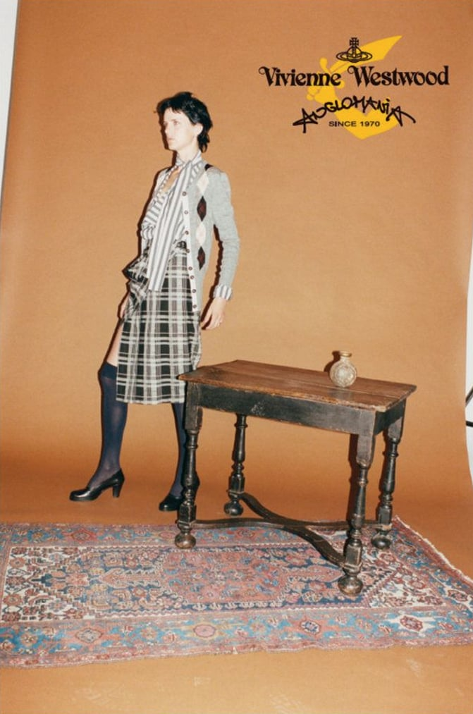 Vivienne Westwood Anglomania Fall 2012 Ad Campaign