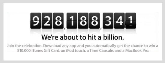 Daily Tech: Apple Gearing Up For Billion Mark in App Downloads
