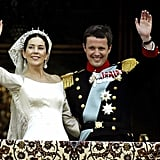Prince Frederik and Mary Donaldson The Bride: Mary Elizabeth Donaldson, an Australian marketing professional who met the prince while he was in Sydney for the Olympics. The Groom: Frederik, crown prince of Denmark. When: May, 14 2004. Where: Copenhagen Cathedral, Copenhagen.