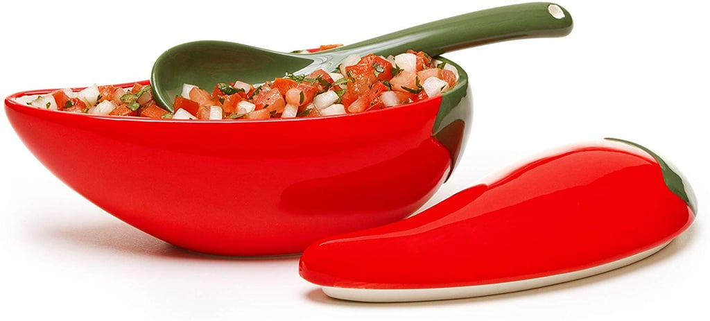 Salsa Bowl With Spoon