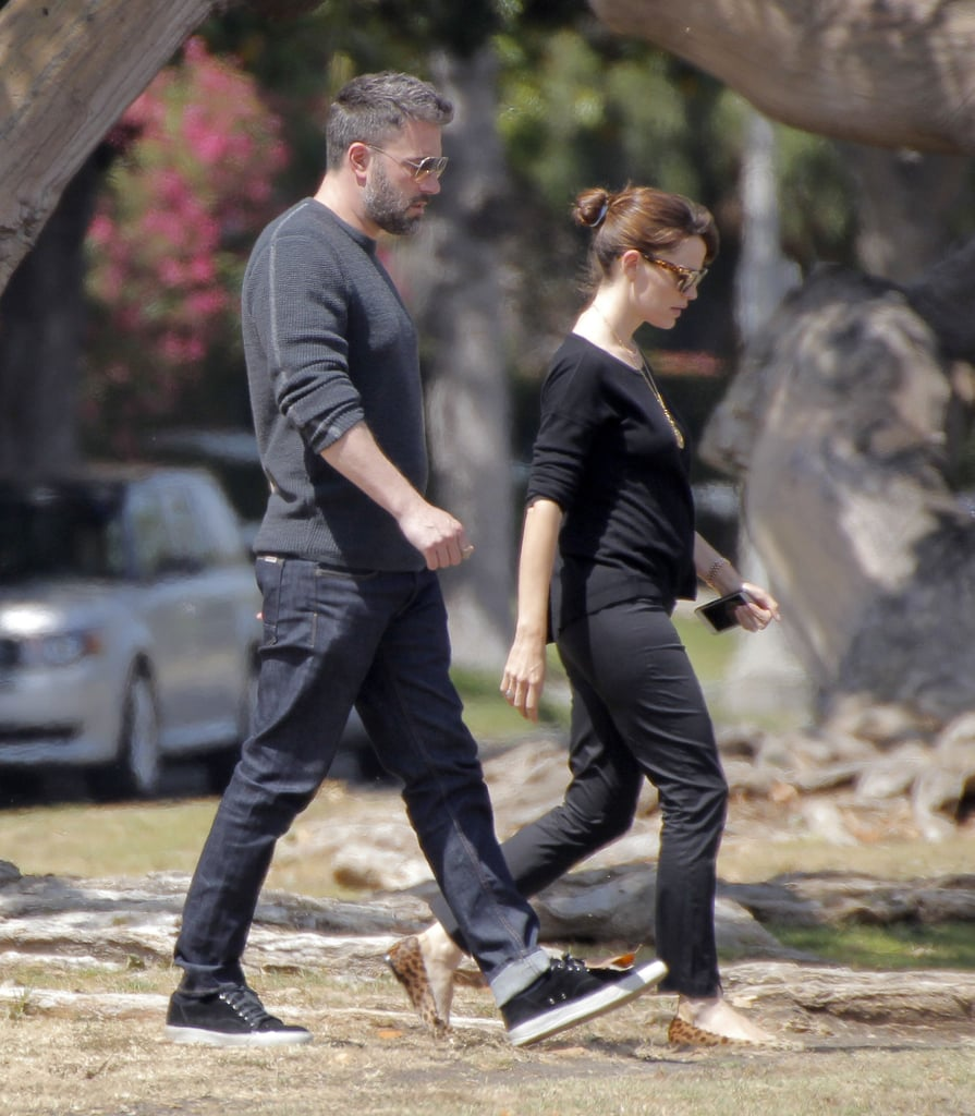 """Ben Affleck and Jennifer Garner grabbed lunch in the Los Angeles district of Brentwood together on Thursday before taking their daughters, Violet and Seraphina, out for ice cream later in the day. The couple, who has recently been the subject of split rumors, has been one of Hollywood's longest-running duos and has their 10-year wedding anniversary coming up on June 29. Despite the speculation about their relationship, both Ben and Jen have been focusing on work and family. Ben filmed a cameo for Suicide Squad, while Jennifer launched her new children's crafts line, We Made It. During press for the new products, she talked about treating her own children """"like real kids."""""""