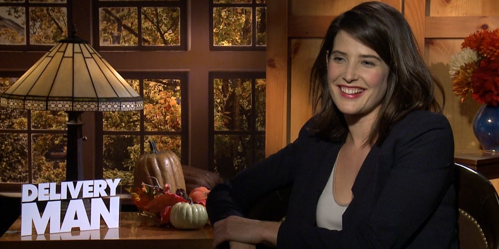 Cobie Smulders Interview For Delivery Man