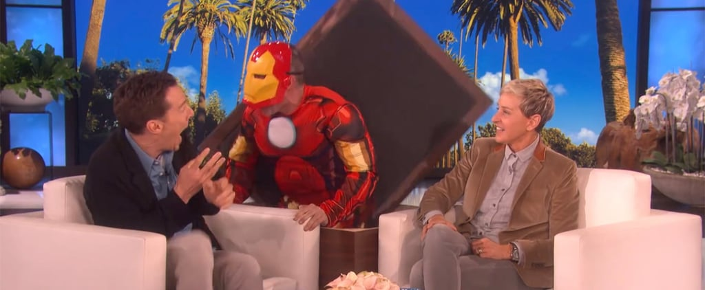 Benedict Cumberbatch Iron Man Scare on Ellen April 2018