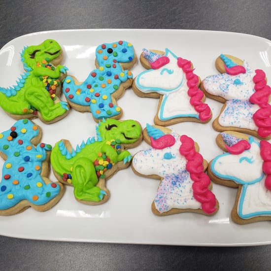 Sam's Club $6 Dinosaur and Unicorn Cookie Kits