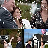 Valentine's Day Vows Are a Scottish Tradition at Gretna Green  Love was truly in the air in Scotland this Valentine's Day as numerous couples tied the knot at one of the most popular wedding destinations in the world: Gretna Green Blacksmiths Shop. People have been getting hitched at Gretna Green since the 18th century, and more than 5,000 weddings take place in the area every year. See what the Scottish wedding tradition looks like in modern times — kilts, bagpipes, and all — with pictures of today's Gretna Green nuptials now!